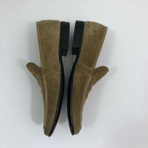 Salvatore Ferragamo Shoes - Salvatore Ferragamo Brown Suede Loafer Men 9.5